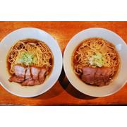 肉そば&比内鶏肉そばセット(各2食入り) 2種類のスープを味わうらーめんセット