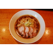 肉そば(4食入り) 豊潤な煮干スープのらーめん